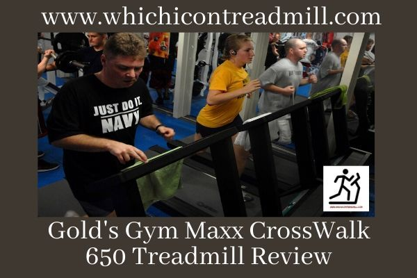 Gold's Gym Maxx CrossWalk 650 Treadmill Review - pickfairly.com
