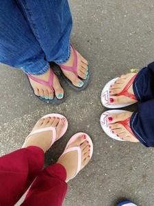 Wear spacious shoes