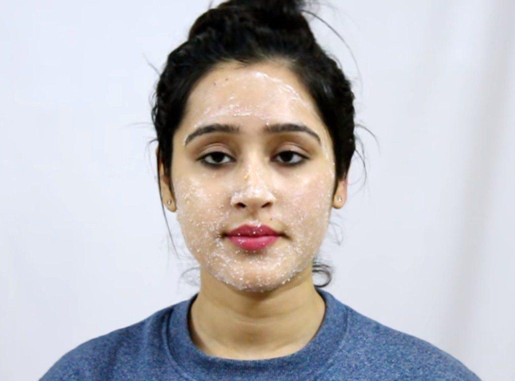 Corn Flour Face Masks