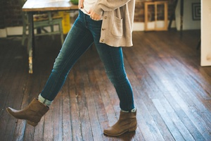 If you like using jeans in your daily life ankle boots can be the perfect mix