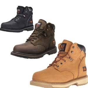 """Timberland PRO Men's 6"""" Pit Boss Steel-Toe shoes standing concrete all day"""