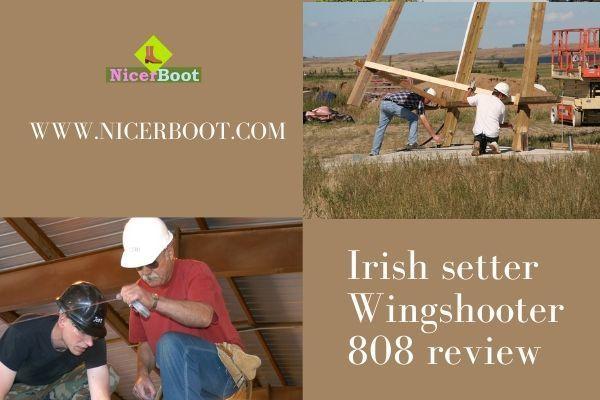 "Irish Setter Men's 808 Wingshooter Waterproof 9"" Upland Hunting Boot"