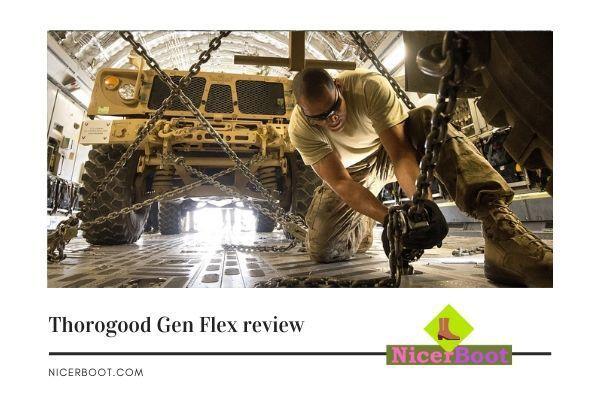 Thorogood Gen Flex review