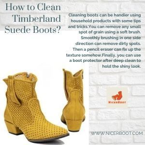How to Clean Timberland Suede Boots