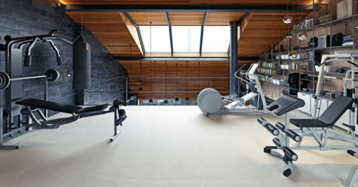 personal space into the best home gym